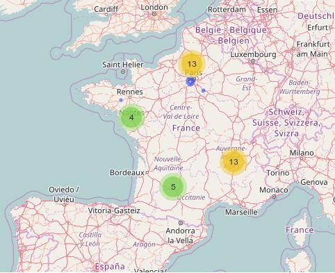cartographie du libre à la date du 2017-04-10
